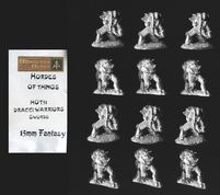 Alternative Armies 15mm Fantasy HOT51 Dracci with Sword (Dragonmen) (x 12)